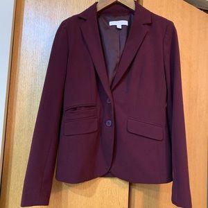 New York and company maroon blazer size 4 small